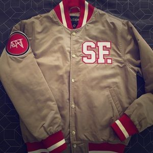 Other - Gold Blooded Niners Bomber Jacket